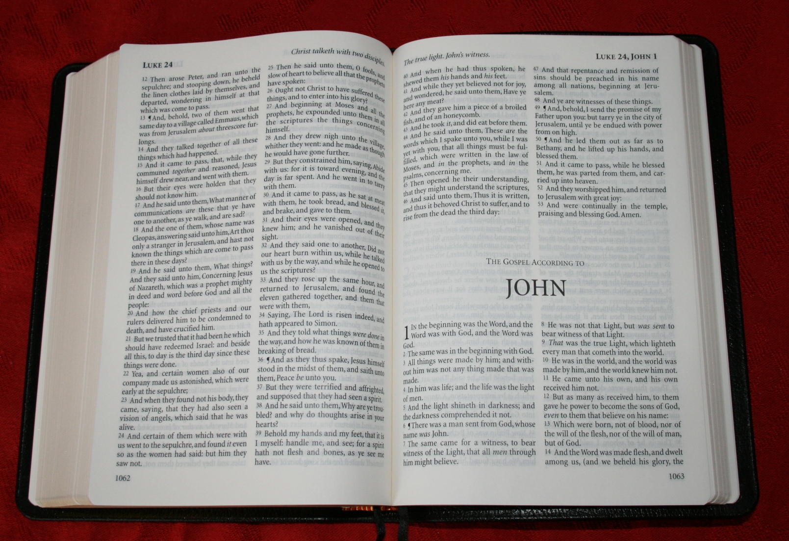 An analysis of the message of john in the christian belief